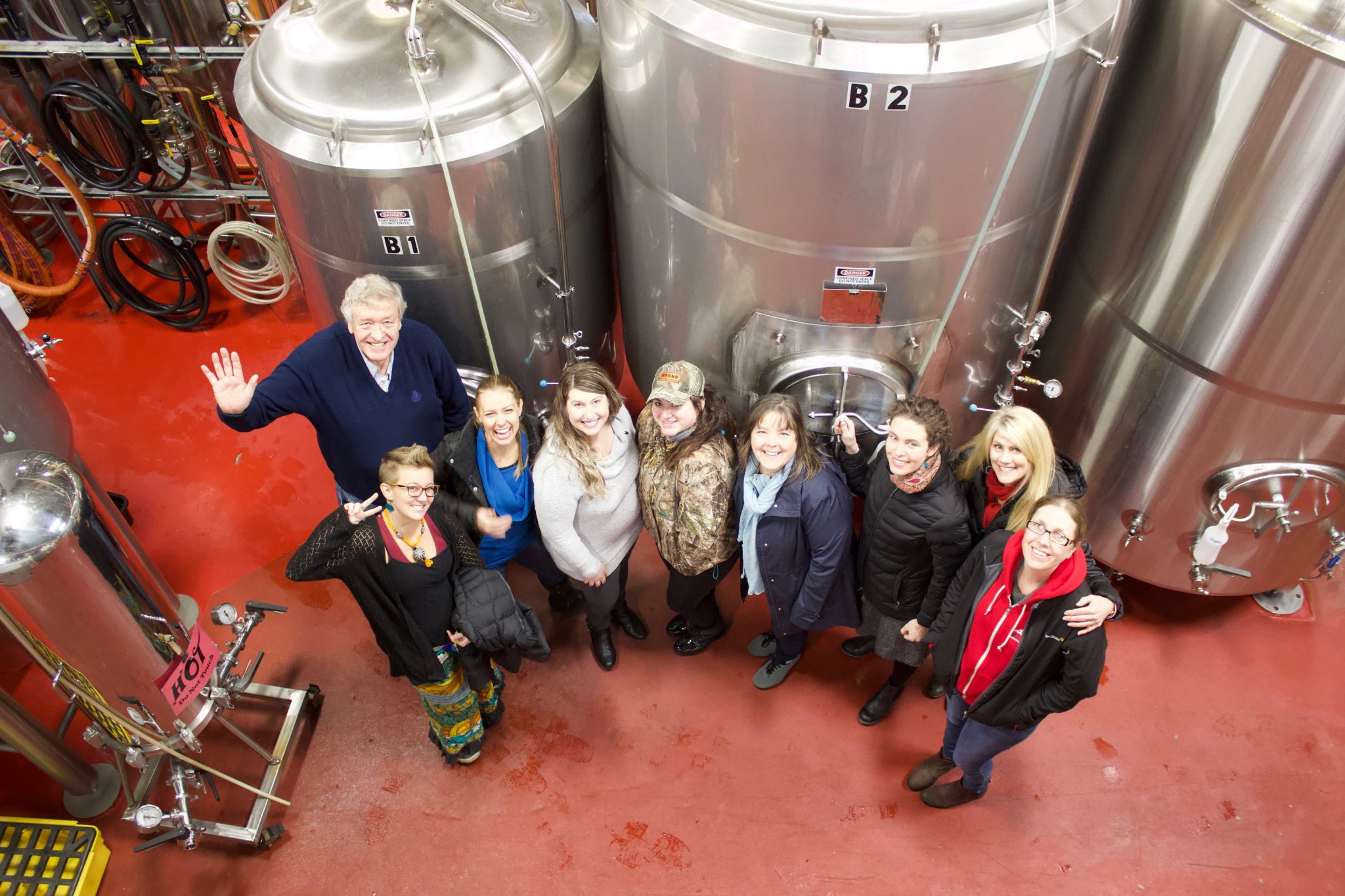 Kulshan and Habitat brew team