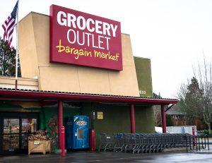Grocery Outlet market in Bellingham, Washington