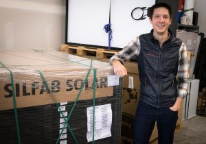 Ty Chang of Ecotech Solar in Bellingham