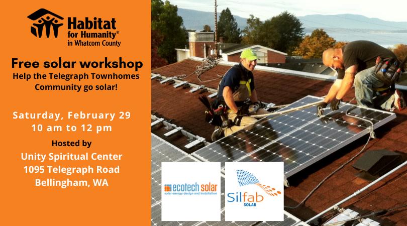 Go Solar Workshop in February 2020