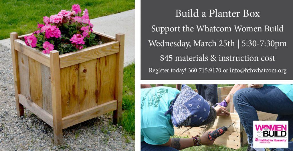 Build a planter bed workshop
