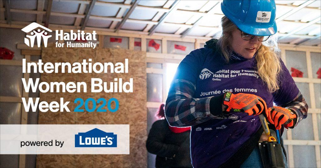 International Women Build 2020 art